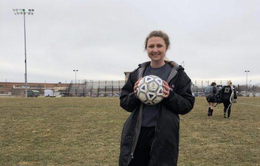 Senior Makayla Stoddart.