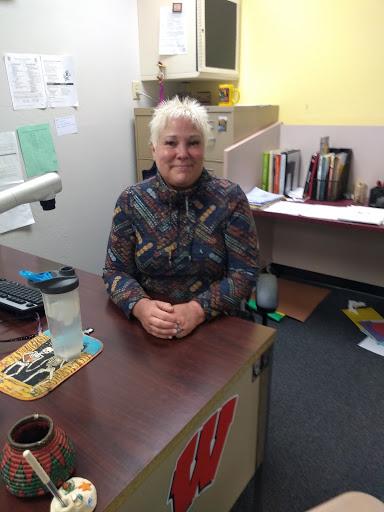 Mrs. Lightner is one of the  Spanish Club advisors