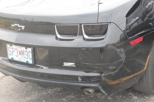 Small accidents in the parking lot can necessitate expensive repairs.