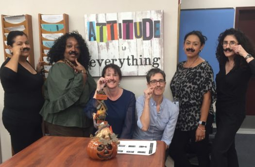 CCUSD staff members gearing up for a hairy month