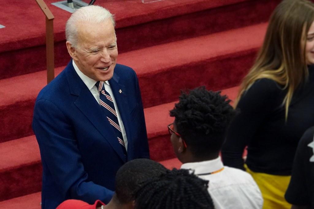 """Joe Campaigning"""