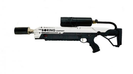A quick look at the flamethrower created by The Boring Company.
