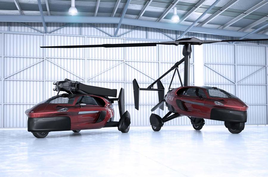 Pal-V Liberty, the world's first flying car to reach mass production.