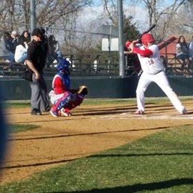 Arvada baseball players run through their game for practice.