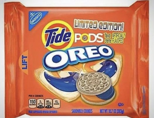 Tide Pods-flavored Oreos may just be in our near future if this ridiculousness keeps up.