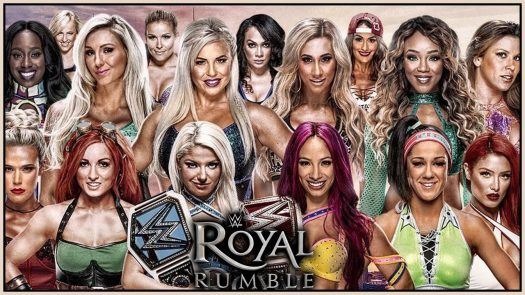 For the first time ever, the women of the WWE participated in the Royal Rumble.