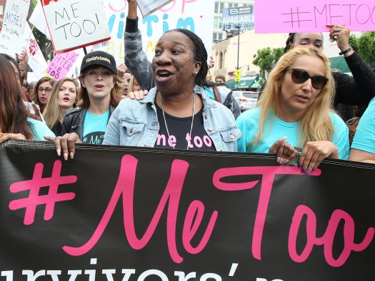 The #MeToo movement was established to help women and men speak out against sexual violence.