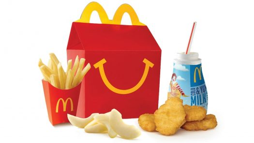 """Mcdonald's is trying to add healthier options to their happy meals"""