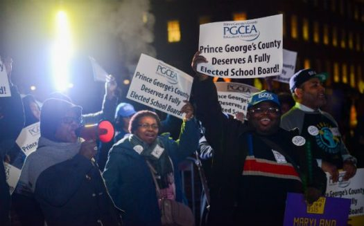 PGCPS teachers take a stand against what they feel is unfair salary and a irresponsible Board.