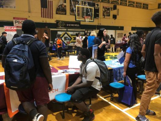 Parkdale students attend annual college and career fair