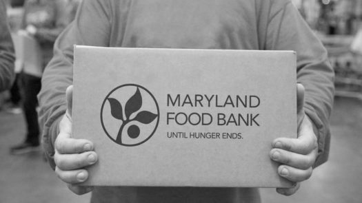 Students may volunteer at the Maryland Food Bank to help people in need.