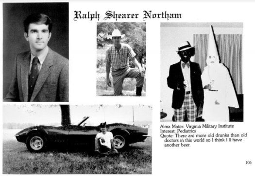 VA Governor Ralph Northam's college yearbook photos have come back to bite him years later.