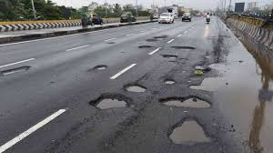 Potholes on road can cause driver thousands of dollars