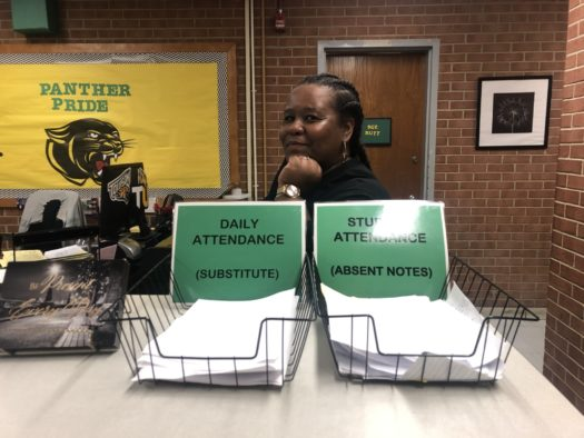 Attendance secretary Ms. Mason is now the only person who can assign Absent Yellow Notes.