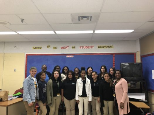 2019-2020 Esol Ambassadors held their first meeting on October 4th.
