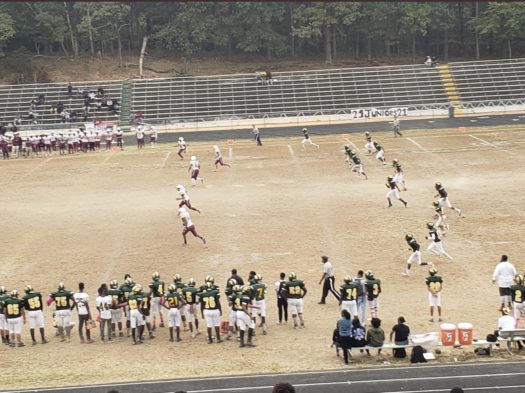 The Mighty Panther are forced to play home games on a field with no grass.