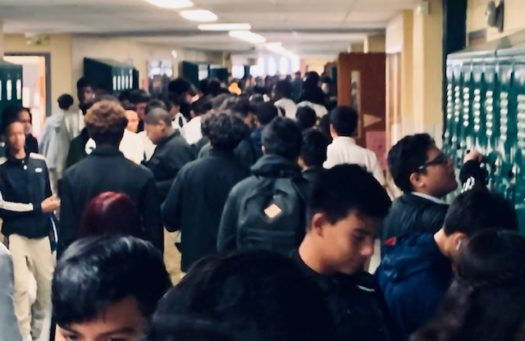 The 260s hallway in the main building sees daily traffic, most times causing students to be late.
