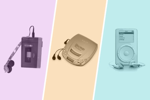 Here are generations of tech