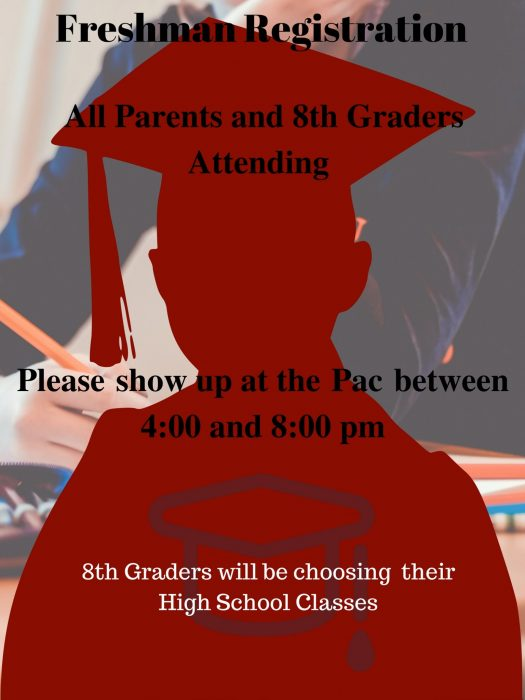 Date and time for freshman registration