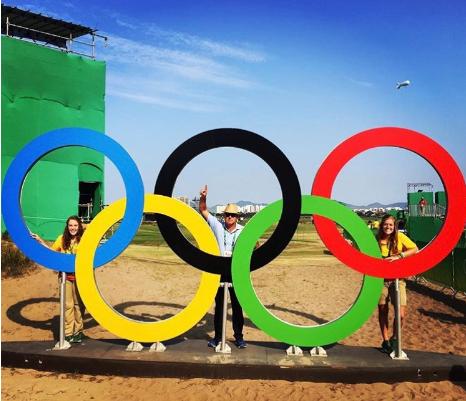 Sally at the Olympics