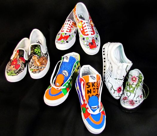 The West Ottawa Art Department Recently Had Opportunity To Participate In Vans Custom Culture Competition Each School Was Challenged Create Four