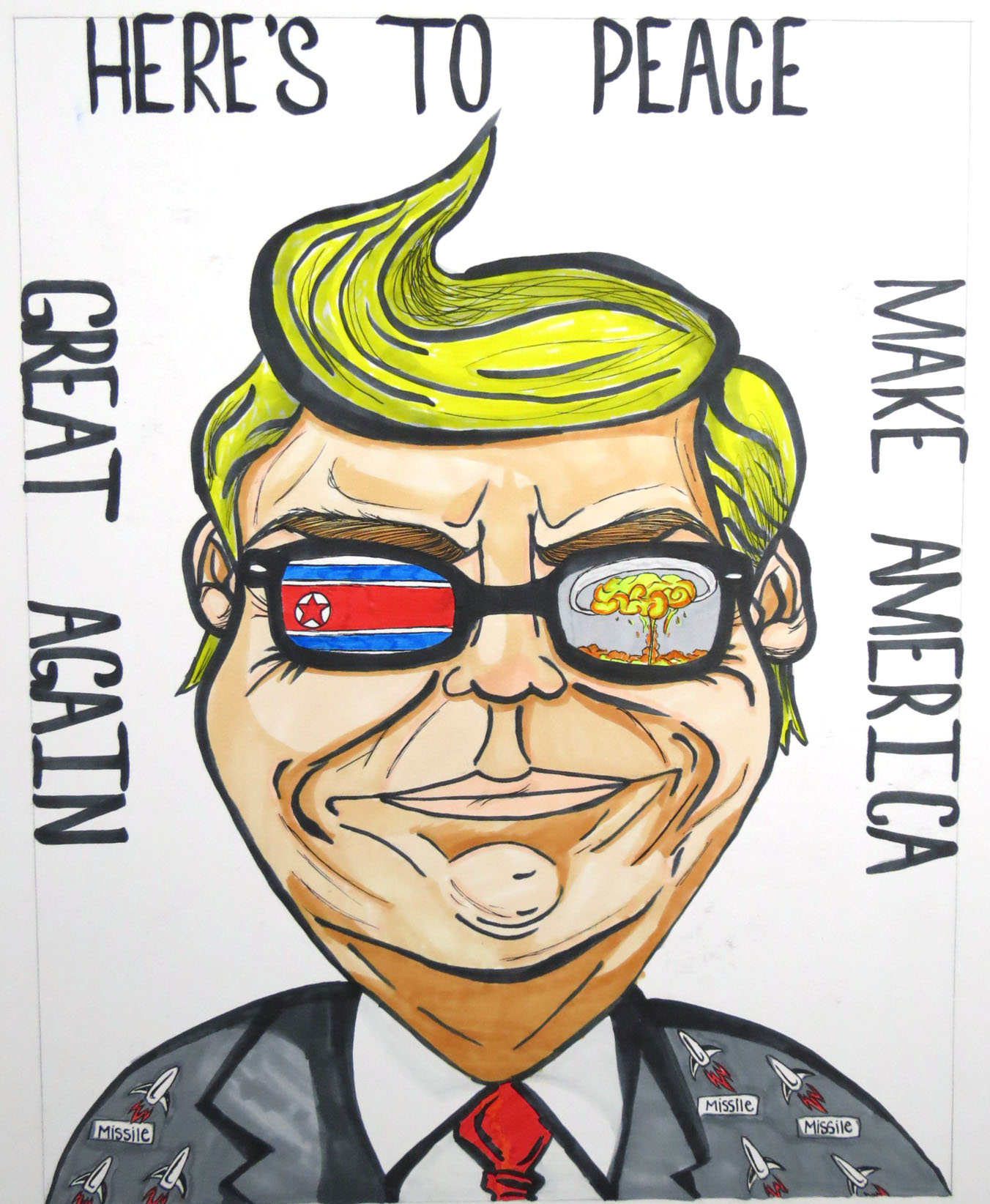 AP and IB art: Political cartoons » The West Ottawan
