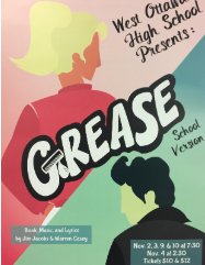 A Grease flyer