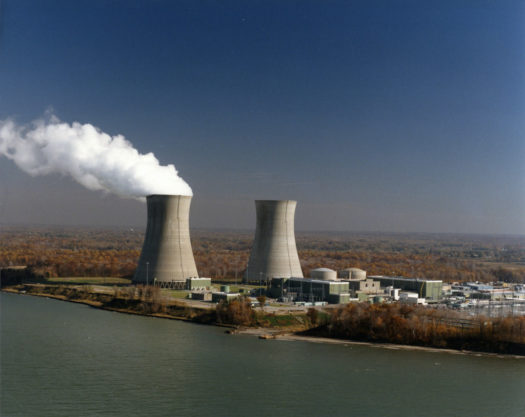 The Perry Nuclear Power Plant in Lake County, Ohio